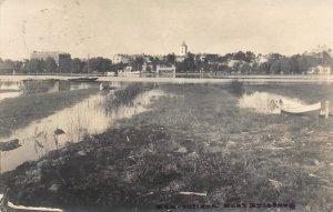 Hämeenlinna Panorama Finland 1929 RPPC Real Photo postcard
