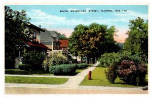 Wisconsin   Waupun , South Watertown Street