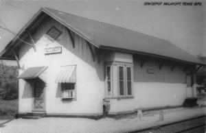 Malakoff Texas SSW Depot Real Photo Antique Postcard K73249