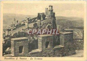 Postcard Modern San Marino The Forterra