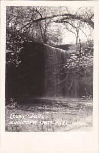 Lower Falls Minneopa State Park Minnesota Real Photo
