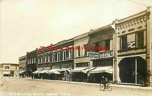 ID, Rupert, Idaho, RPPC, Business Block, Storefronts, Pacific Photo No 9
