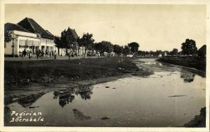 indonesia, JAVA SOERABAIA, Pegirian (1920s) RPPC Postcard