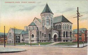 Exterior, Public Library, Lawrence, Massachusetts,  00-10s