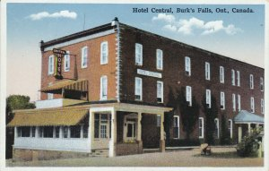 BURK'S FALLS, Ontario, Canada, 1900-10s; Hotel Central