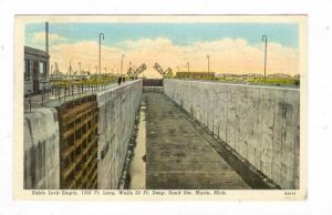Sabin Lock , Saulte Ste. Marie , Michigan, PU-1940