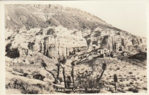 RP: Red Rock Canyon  , S. California , 1920-30s