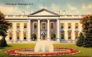 Washington D C The White House 1941