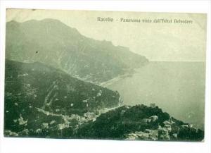 Ravello , Salerno, Campania, Italy, 00-10s   Panorama visto dall'hotel Belvdere