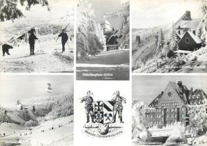 Kurort Oberwiesenthal Germany ski resort crest & multi views