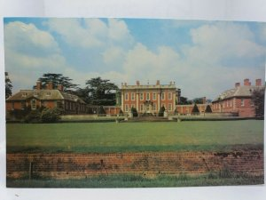 Cottesbrooke Hall Northampton Northamptonshire New Vintage Postcard 1970s