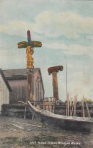 WRANGELL , Alaska , 1900-1910´s ; Indian Totems
