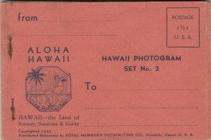 HAWAII , 1942 ; Hawaii Photogram Set No 2