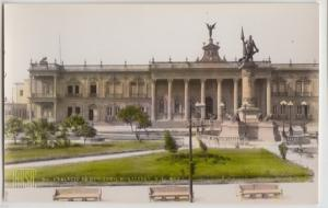 Monterray Nuevo Leon N.L. Mexico RPPC Real Photo Postcard c1920 GOV'T PALACE