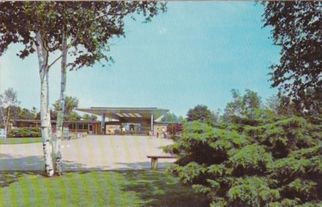 Michigan Metropolitan Beach Entrance To Bathhouse 1972