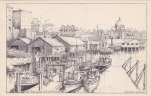 AS: Edward Goodall, Fisherman's Wharf , Victoria , B.C. , Canada , 30-40s