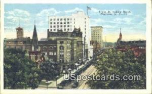 Tryon Street Charlotte NC 1929