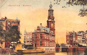 Amsterdam Holland Munttoren Amsterdam Munttoren
