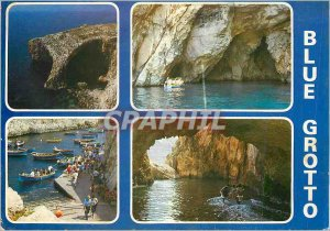 Postcard Modern Blue Grotto Zuerrieo Malto