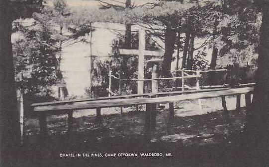 Maine Waldboro Chapel In The Pines Artuve