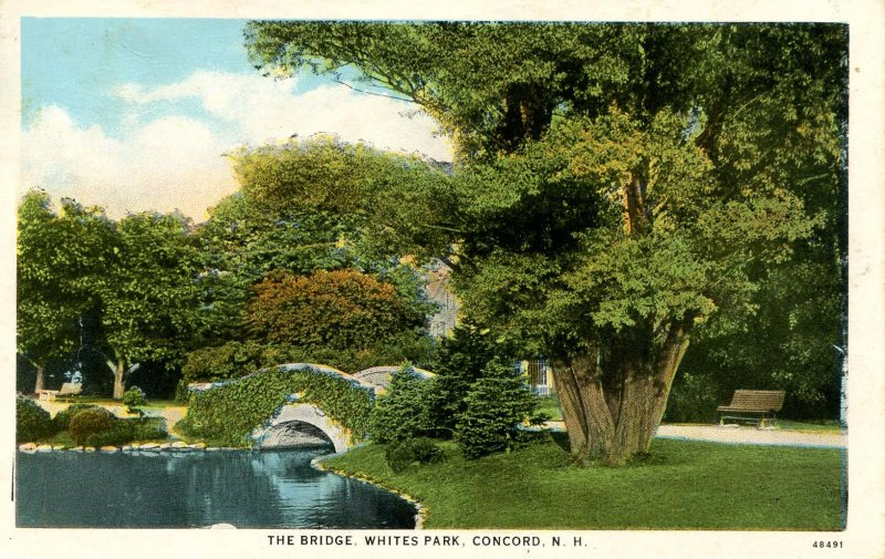 NH - Concord. Whites Park, The Bridge