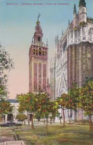 Catedral, Giralda Y Patio De Naranjos, Sevilla (Andalucia), Spain, 1900-1910s