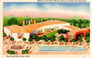 NY - 1939 New York World's Fair. Medicine & Public Health, Science & Educatio...
