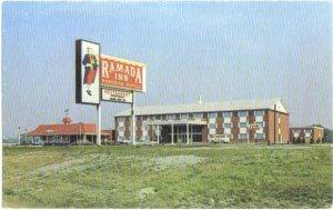 The  Ramada Inn, Detroit Area, Allen Park, Michigan, MI, Chrome