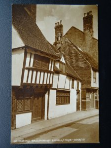 Sussex HASTINGS Sir Cloudesley Shovell's House c1908 RP Postcard by Judges 195