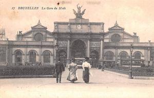 Bruxelles Belgium, Belgique, Belgie, Belgien La Gare du Midi Bruxelles La Gar...