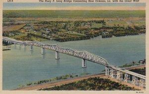 NEW ORLEANS , Louisiana , 1930-40s ; Huey P. Long Bridge