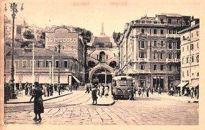 Piazza Goldoni Trieste Italy Unused