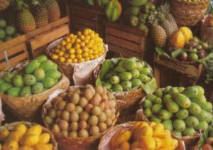 Philippines Local Tropical Fruits