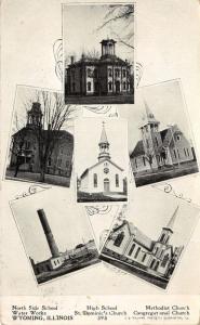 Wyoming Illinois~North Side-High Schools~Methodist-St Dominic's-Congr Church~'08