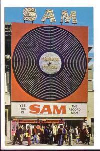 Sam The Record Man Yonge Street, Toronto, Ontario, Advertising