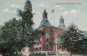 Massachusetts Gloucester City Hall 1912