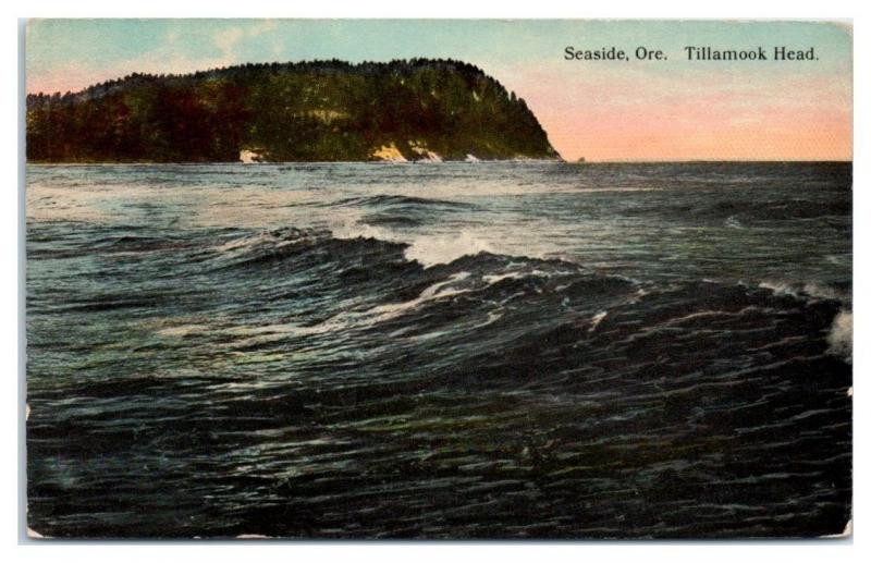 Early 1900s Tillamook Head, Seaside, OR Postcard