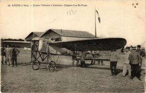 CPA AK Avord Centre Militaire d'Aviation - Depart d'un Bi-Places (613636)