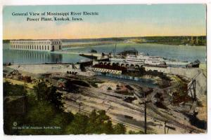 Mississippi River Electric Power Plant, Keokuk IA