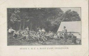 INGLENOOK , Pennsylvania, 1921 ; State YMCA Boy's Camp