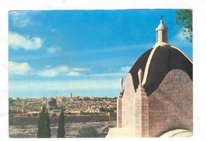 Bird's Eye View, Chapel of Dominus Flevit, Jerusalem,  Israel, PU-1981