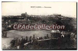Postcard Old Cassel Mount Panorama