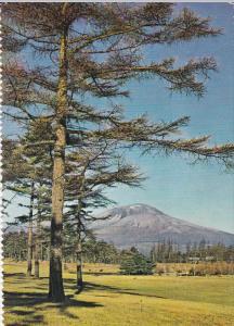 JAPAN, Karuisawa Golf Course from MT. ASAMA,  PU-1965