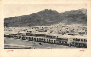Yemen Aden Camp Panoramic view Postcard