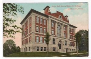 Scott Memorial College Middletown Connecticut 1915 postcard
