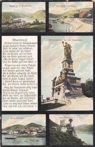 Germany National Denkmal auf dem Niederwald Multi View