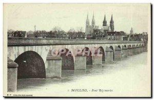 Mills Postcard Old Bridge Régemortes