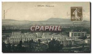 Old Postcard Toulon Vue Generale