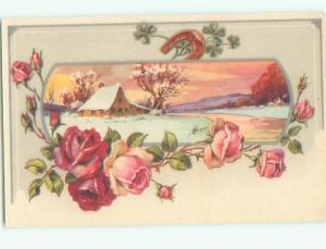 Mid-Century Era GREAT SCENE Scarce Foreign Postcard AA6763
