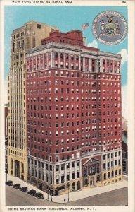 New York Albany New York State National And Home Savings Bank Building
